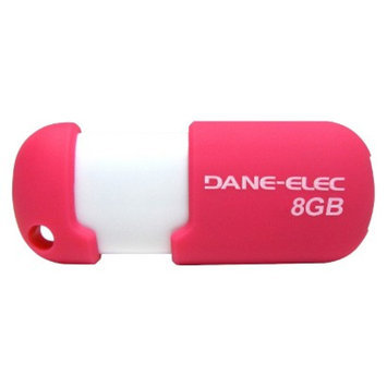 Dane-Elec 8GB USB Flash Drive - Pink/White (DA-Z08GCN5DB-C)