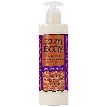 Indigo Wild Zum Body Shea Butter and Meadowfoam Seed Oil Body Lotion Sandalwood-Citrus -- 8 fl oz