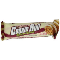 Labrada Nutrition Cookie Roll Bar, Raspberry Cheesecake, 12-Count