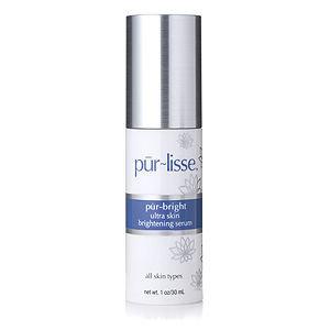 pur-lisse pur~bright ultra skin brightening serum