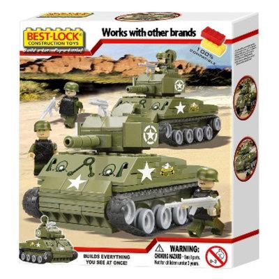 Best-Lock Sherman Tank Building Set 330 Piece