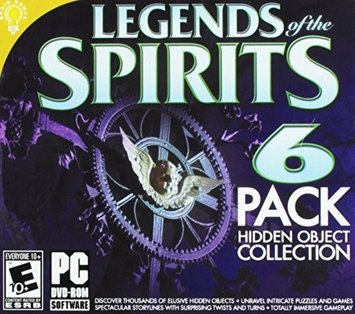 On Hand Software Legends Of The Spirits Hidden Object 6pk