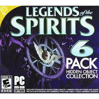 On Hand Software Legends Of The Spirits Hidden Object 6pk