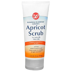 Walgreens Blemish & Blackhead Control Apricot Scrub