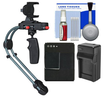 Steadicam Smoothee Video Stabilizer for iPhone 5/5s, GoPro HERO3 with AHDBT-301 Battery & Charger + Accessory Kit for GoPro