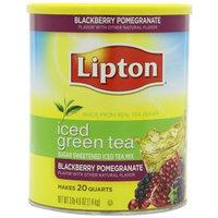 Lipton® Iced Green Tea, Sugar Sweetened Mix, Blackberry Pomegranate