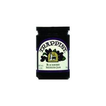Trappist Seedless Blackberry Jam - -Pack of 12