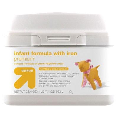 up & up Infant Formula Premium - 23.4oz (6 Pack)