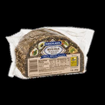 Rubschlager Rye-Ola Black Rye Bread
