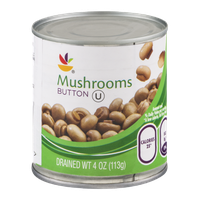 Ahold Mushrooms Button
