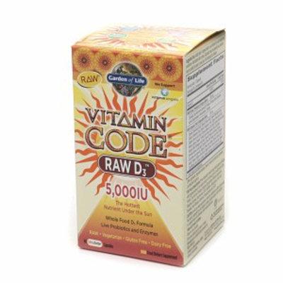 Garden of Life Vitamin Code RAW D3 5000IU
