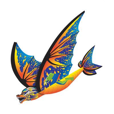 Brainstorm X-Kites FlexWing Glider - Dragon - Cyan