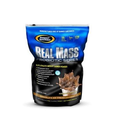 Real Mass Probiotic Series-Strawberry Milkshake Gaspari Nutrition 6 lb Powder