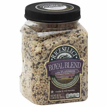 Generic Royal Blend Rice Select with Flaxseeds, 28 oz, (Pack of 4)