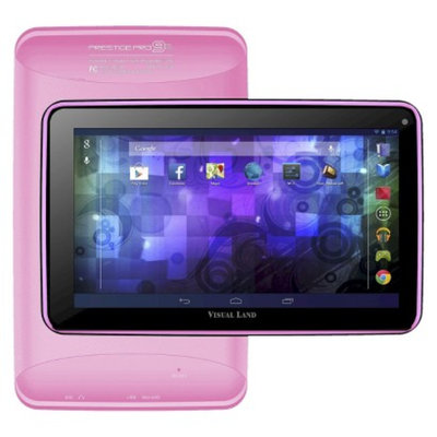 Visual Land Prestige 9D Dual Core 8GB Android 4.2 Tablet - Pink