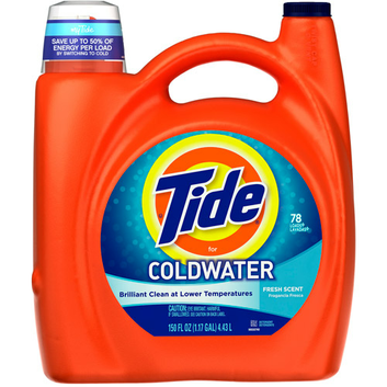 Tide Liquid Laundry Detergent For Cold Water