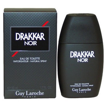 Men's Drakkar Noir by Guy Laroche Eau de Toilette Spray - 1.7 oz