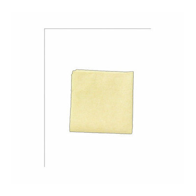 Rubbermaid Commercial Products Microfiber Cleaning Cloths in Yellow