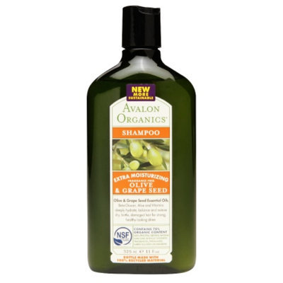 Avalon Organics Olive/Grape Seed Moisturizing Shampoo