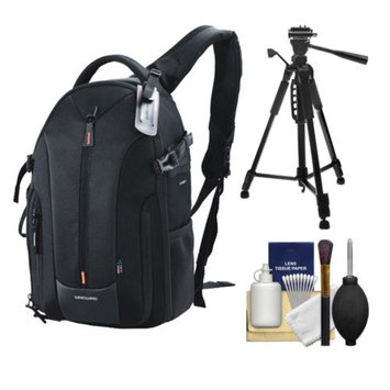 Vanguard Up-Rise II 43 Expandable Digital SLR Camera Sling Case (Black) with Tripod + Accessory Kit