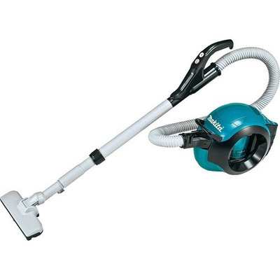 MAKITA DCL500Z Cordless Canister Vacuum,46 cfm,18V