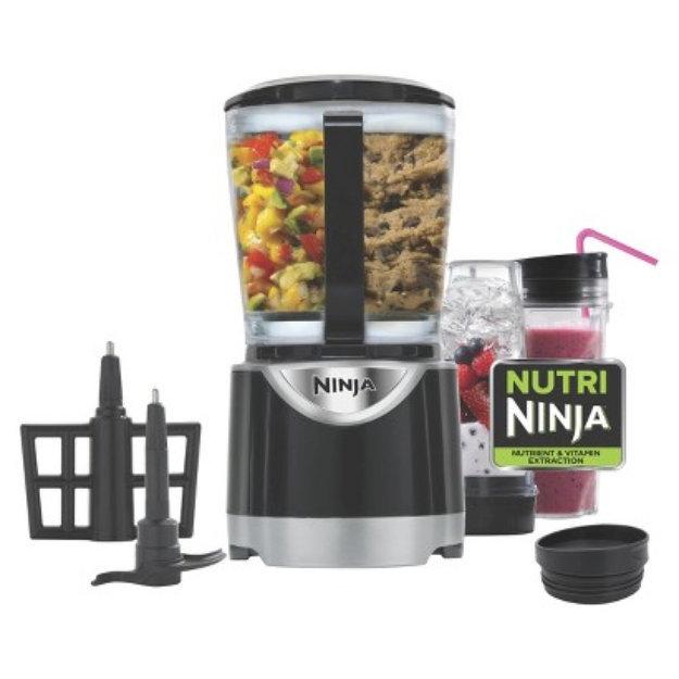 Bl207RBBROWN Ninja Extreme 700W Kitchen System Pulse Blender ...