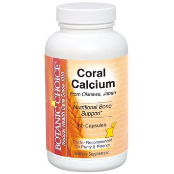 Botanic Choice Coral Calcium Capsules, 60 Count