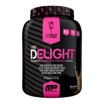 FitMiss Delight Women's Complete Protein Shake Chocolate Delight