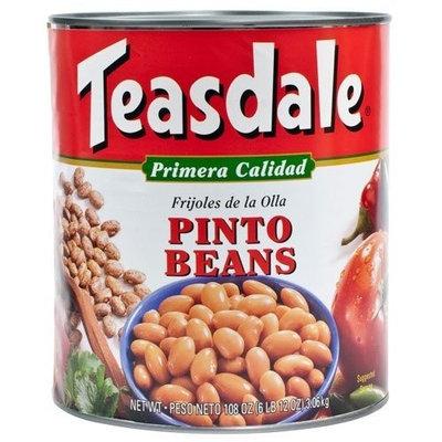 Teasdale Pinto Beans - 1 can, 6 lbs 12 oz