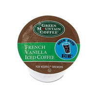 Green Mountain Coffee Roasters Brew Over Ice French Vanilla Iced Coffee K-Cups