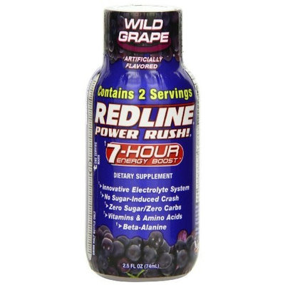 VPX Power Rush, 7hr Grape Shots, 12-Count (2.5 FL. OZ)