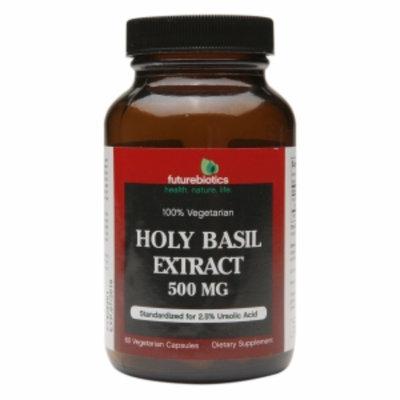 Futurebiotics Holy Basil Extract 500mg, Vegetarian Capsules, 60 ea