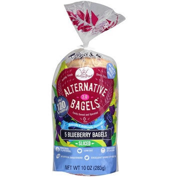 Western Bagel Very Blueberry Bagels, 5 count, 10 oz