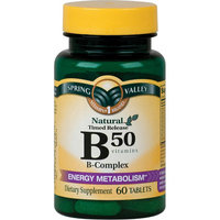 Spring Valley Natural Timed Release B50 B-Complex Tablets