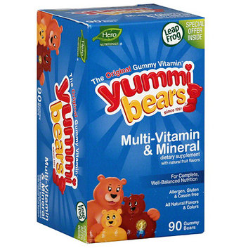 Yummi Bears Multi-Vitamin & Mineral Dietary Supplement