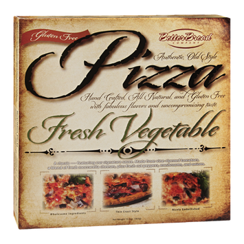 Better Bread Pizza Fresh Vegetable Gluten Free