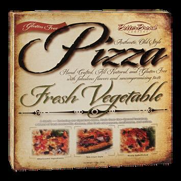 Better Bread Pizza Fresh Vegetable Gluten Free