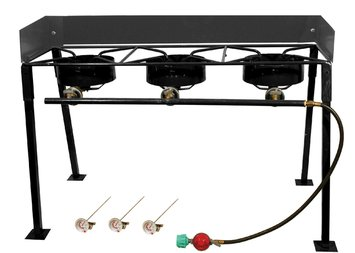 King Kooker Triple Burner Propane Camp Stove