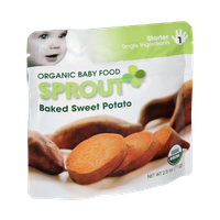 Sprout Starter Baked Sweet Potato Organic Baby Food