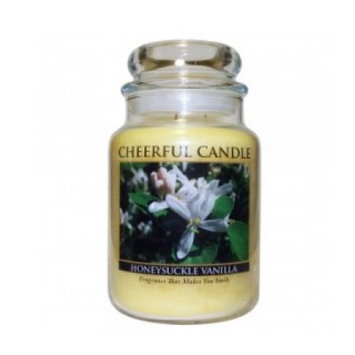 A Cheerful Candle CC88 HONEYSUCKLE VANILLA 24OZ - Pack of 2