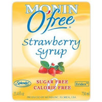 Monin Sugar Free Syrup, Strawberry, 750 ml (25.4 oz)
