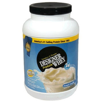 Musclemaster Next Nutrition Designer Whey Protein - French Vanilla 2lb