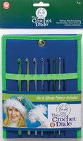 Wm E Wright Ltd. Prt. Boye Crochet Dude Aluminum Hook Set D K