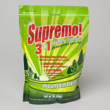 DDI Supremo 3n1 Laundry DetergentMountain Fresh Case of 24