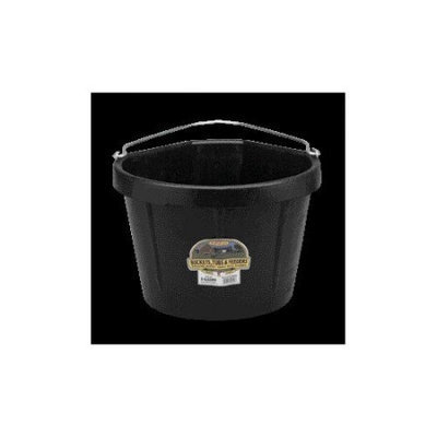 Miller Mfg Inc Miller Rubber Corner Bucket Black 5 Gallon - DFC20