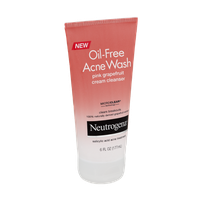 Neutrogena Oil-Free Acne Wash PinkGrapefruit Cream Cleanser