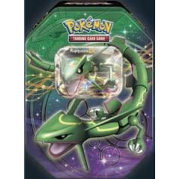Pokémon 2012 Pokemon Dragons Exalted Rayquaza-EX Legendary Collector's Tin - Pokemon Black & White