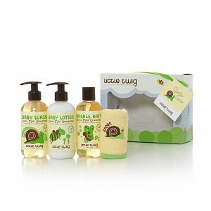 Little Twig Organic Gentle Care Baby Bath Set