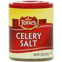 Tone's Mini's Celery Salt, 1.20 Ounce (Pack of 6)