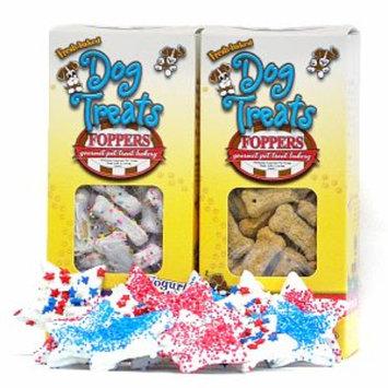 Foppers Gourmet Patriotic 156 piece Gourmet Dog Treat Gift Set